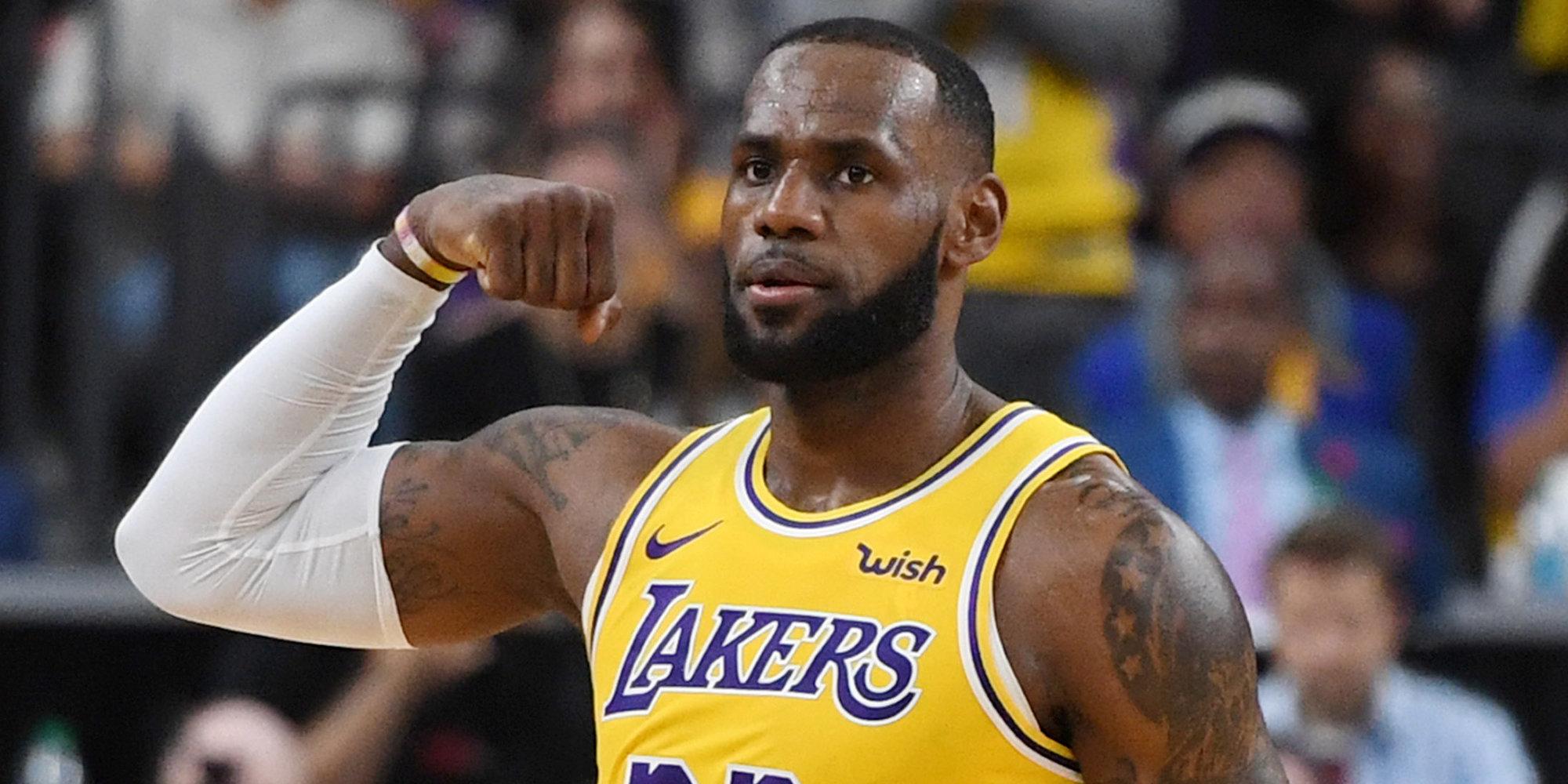 Леброн Джеймс переписал историю НБА