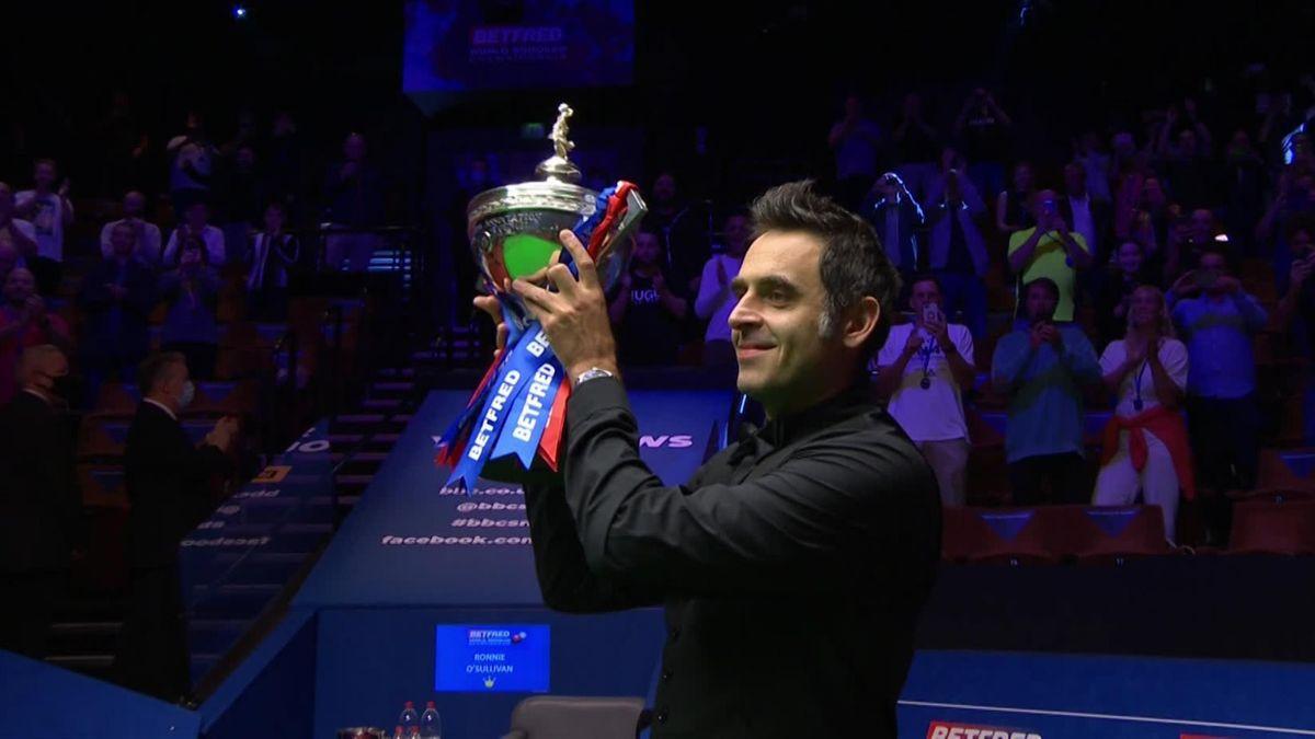О'Салливан в шестой раз стал чемпионом мира