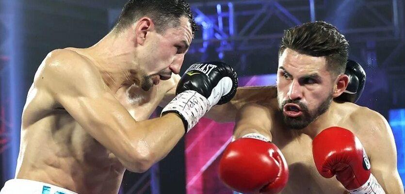 Украинец уступил в чемпионском бою