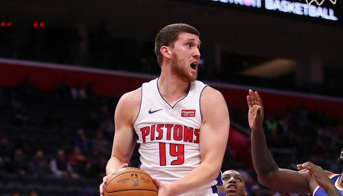 «Детройт» Михайлюка с поражения стартовал в новом сезоне НБА