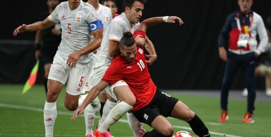 Египет и Испания сыграли вничью на Олимпиаде