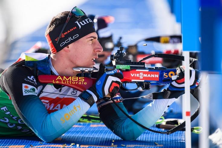 Фийон Майе выиграл гонку преследования, украинцы в пятом десятке
