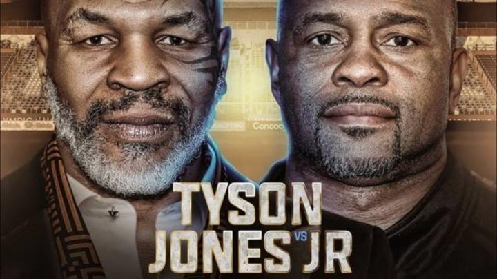 Где смотреть бой Тайсон – Джонс