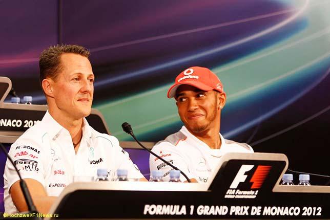 Хэмилтон побил рекорд Шумахера в «Формуле-1»