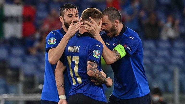 Италия – Швейцария – 3:0. Решающий дубль Локателли