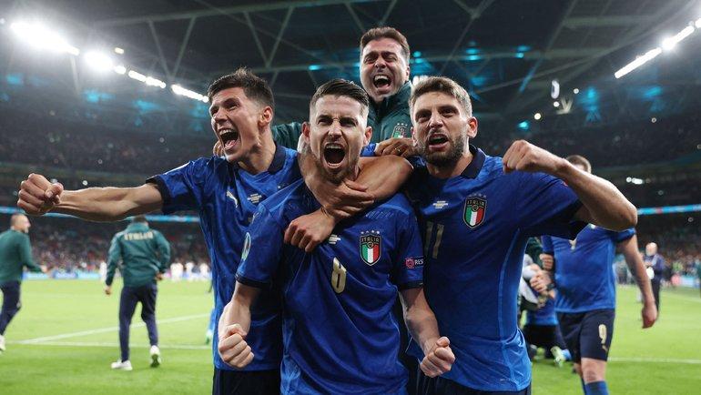 Италия в серии пенальти обыграла Англию и стала чемпионом Европы