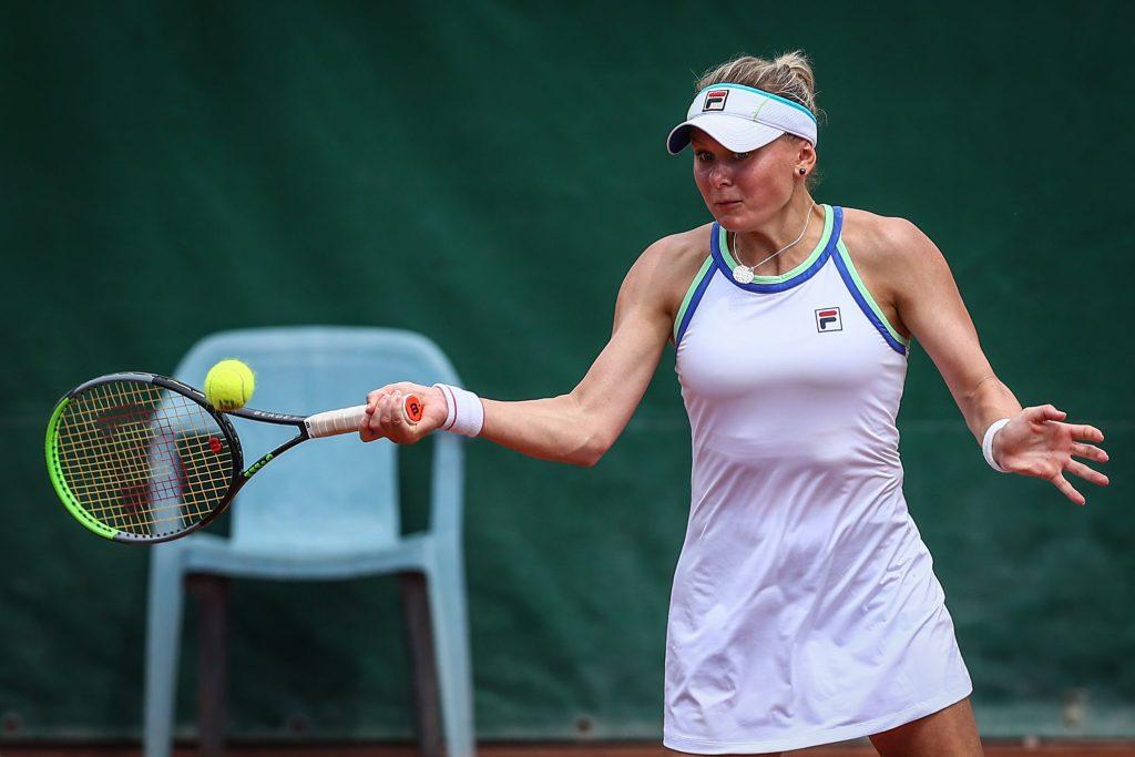 Козлова прошла во второй раунд турнира в Италии