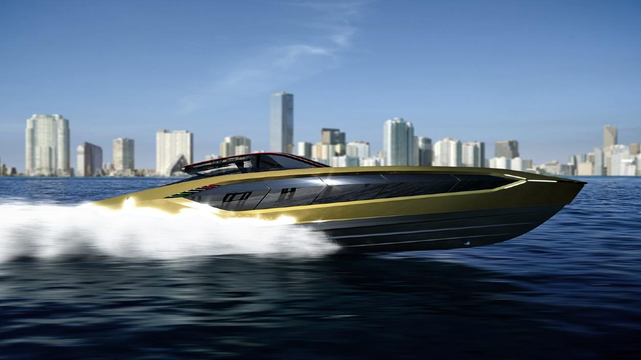 Макгрегор купил редкую суперскоростную яхту «Ламборджини»