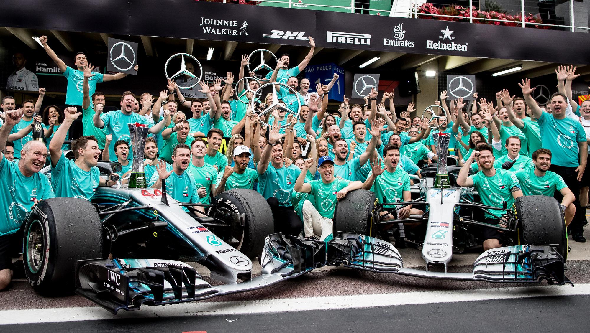 «Мерседес» готовит продажу команды «Формулы-1»