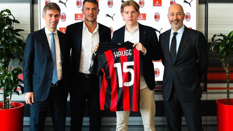 «Милан» подписал норвежского вундеркинда