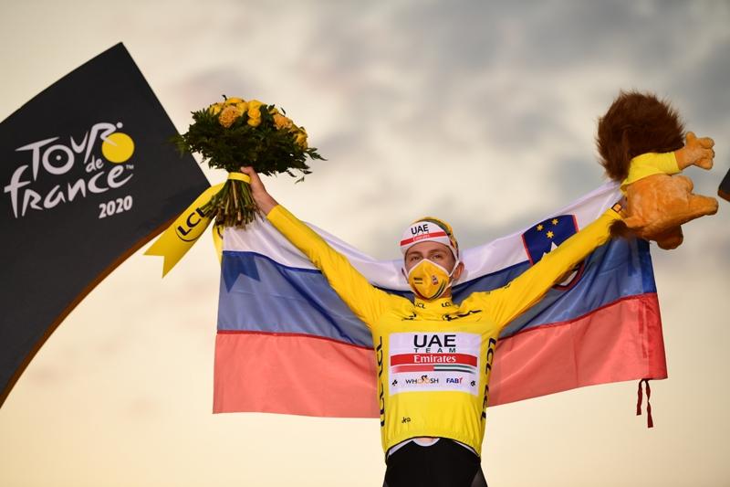 Молодой словенец сотворил сенсацию на «Тур де Франс»