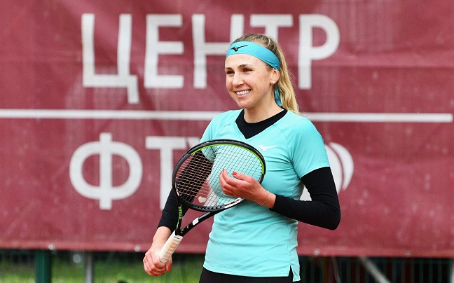 Надежда Киченок преодолела 1 раунд Кубка Кремля в парном разряде