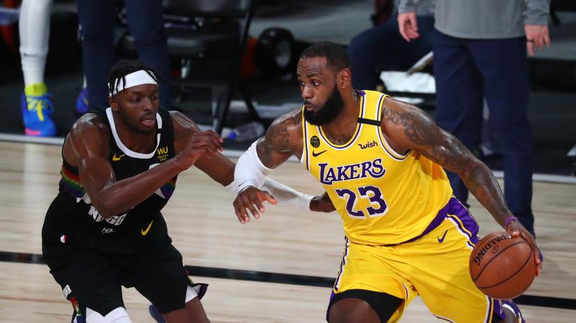 НБА определилась с датой старта нового сезона