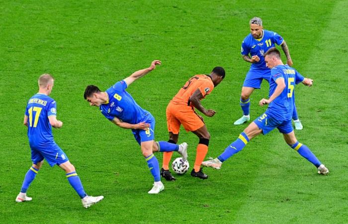 Нидерланды – Украина: финальный счет 3:2