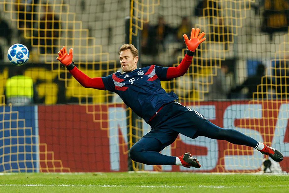 Нойер побил рекорд Роналду в Лиге чемпионов