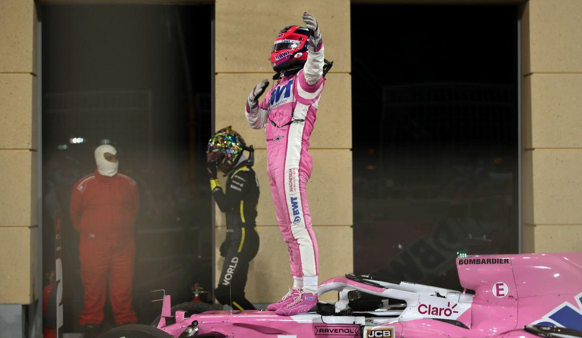 Перес впервые в истории выиграл гонку для «Рейсинг Пойнт»