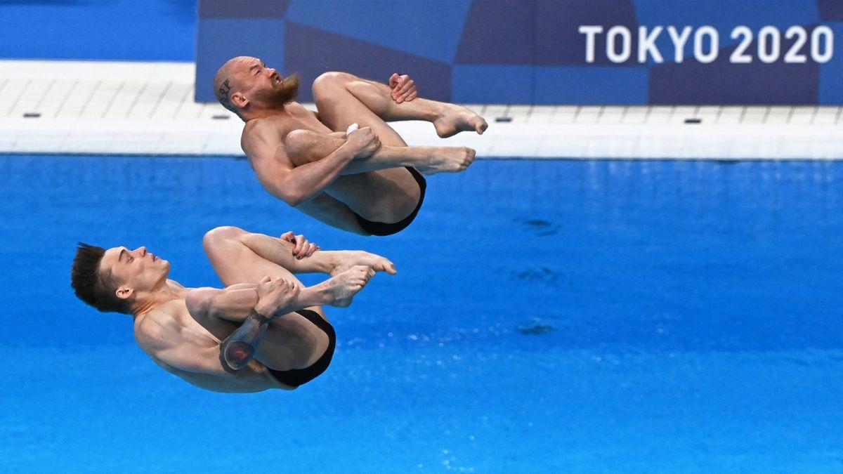 Сборная Китая выиграла золото в синхронных прыжках в воду