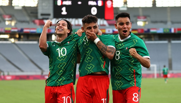 Сборная Мексики разгромила сборную Франции на Олимпиаде