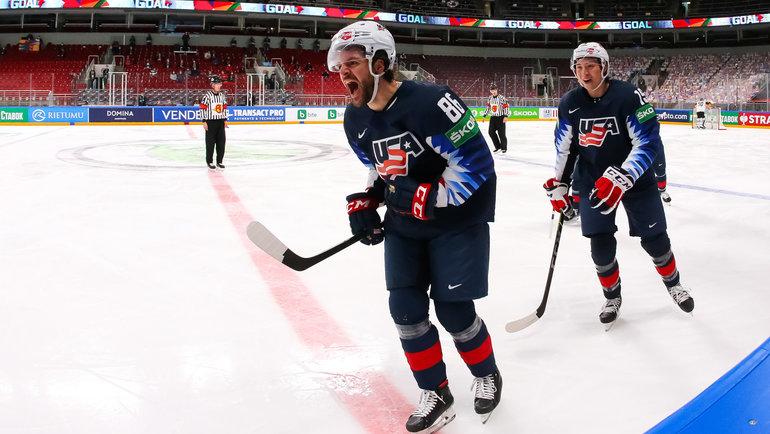 Сборная США забирает бронзу чемпионата мира по хоккею