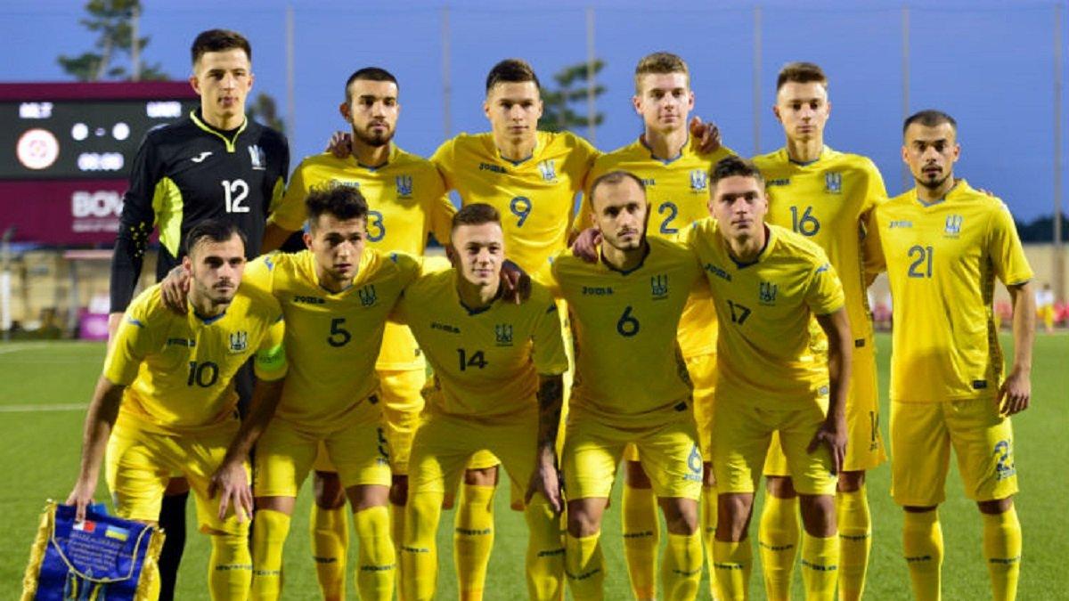 Сборная Украины U-21 разгромно проиграла Франции
