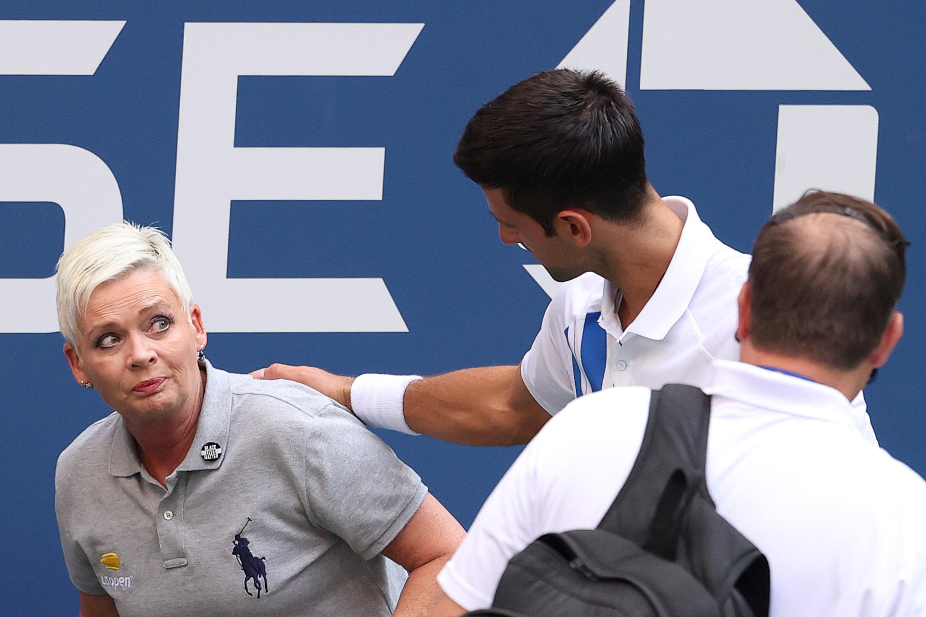 Скандал на US Open: Джоковича с позором выгнали с турнира