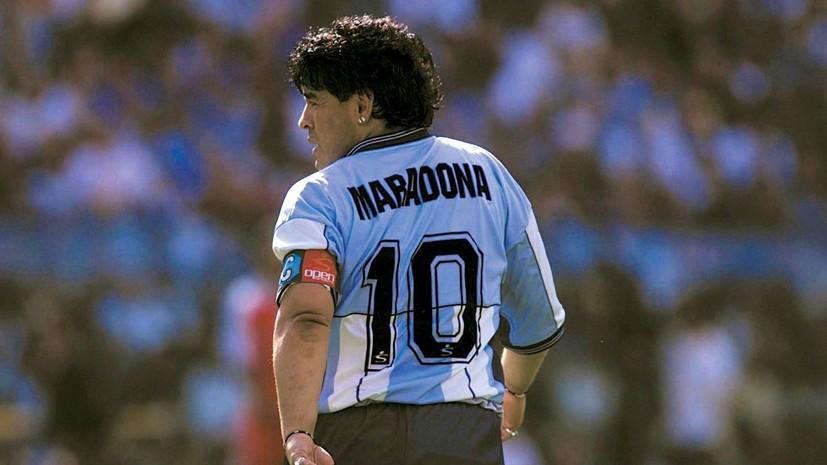 Стадион «Наполи» возьмет имя Диего Марадоны