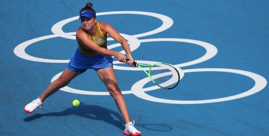 Свитолина прошла в полуфинал Олимпиады