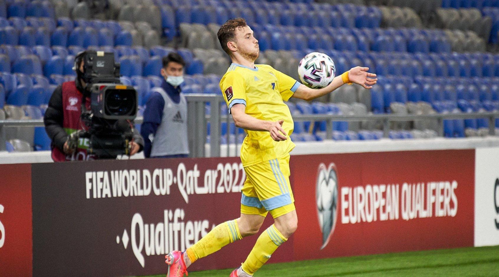 УЕФА возбудил дело против защитника Казахстана Валиуллина. Он забил 2 гола Украине