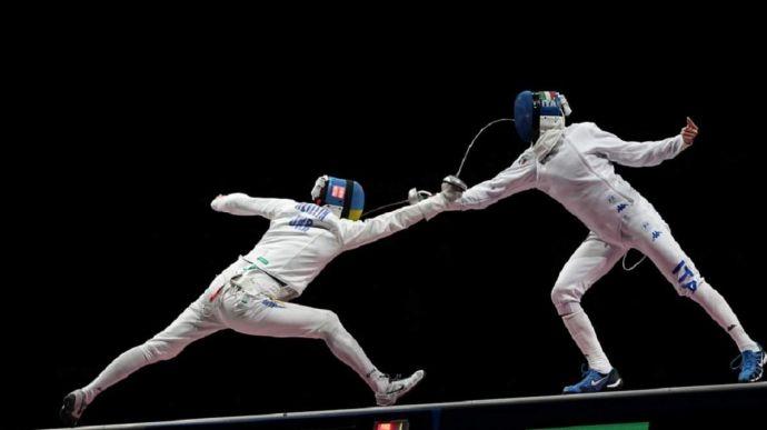 Украинские шпажисты уступили в поединке за 5 место на Олимпиаде