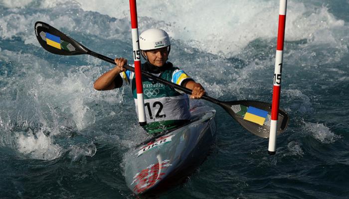 Валерия Ус прошла в полуфинал по гребному слалому на Олимпийских играх