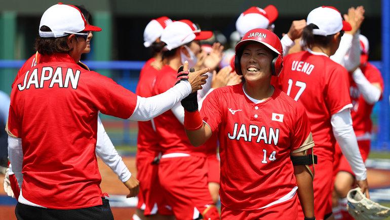 Япония – олимпийский чемпион по софтболу