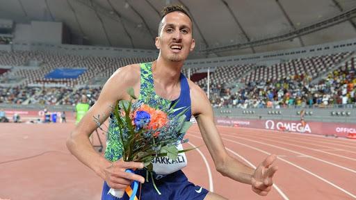 Золото Олимпиады по забегу на 300 метров с препятствиями досталось марокканцу Эльбаккали